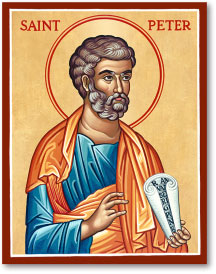 St. Peter icon