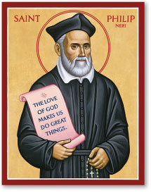St. Philip Neri icon - 4.5