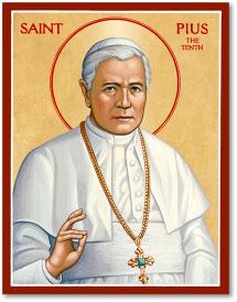 St. Pius X Icon - 8