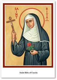 St. Rita Holy Cards