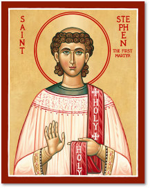 St. Stephen icon - 8