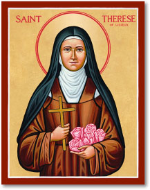 St Therese of Lisieux icon - 11