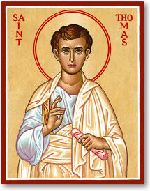 St. Thomas the Apostle icon - 3