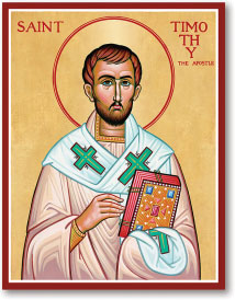 St. Timothy icon - 8