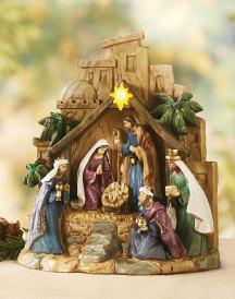 Star of Bethlehem Nativity Figurine