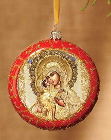 Sweet Kissing Icon Ornament