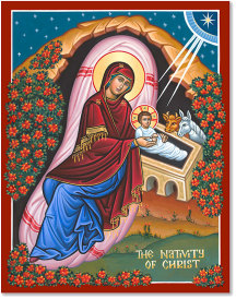 The Nativity of Christ icon - 8