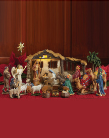 Three Kings Deluxe Nativity Set