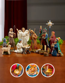 Three Kings Nativity Set - 14-inch basic