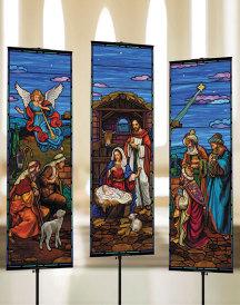 Traditional Nativity Banner Set