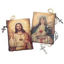 Two Sided Rosary Pouch
