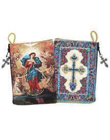 Untier of Knots rosary pouch