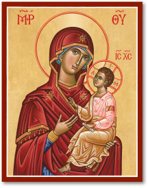 Virgin and Child icon - 11