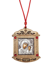 Virgin Mary Car Pendant