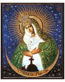Virgin of Ostrabama mini icon