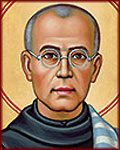 Saint Maximilian Kolbe, Martyr of Charity,