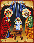 O Holy Night Video, Inspired by the icon in the Grotto of the Nativity in Bethlehem, our new Nativity icon