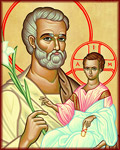 The Patron Saint of Everything, Whether as our helper with our smallest daily problems, or as the patron of the Church Universal, Saint Joseph's generous help to mankind is demonstrated in every avenue of life.