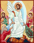 What did Jesus do on Holy Saturday?, The icon of the Resurrection tells us exactly what Jesus did when He