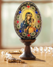Glass & Wooden Eggs