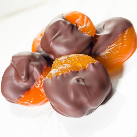 Hand-Dipped Glace' Apricots