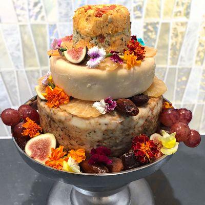 Three-tiered Celebration Cake