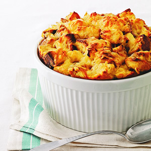 Gouda Bread Pudding