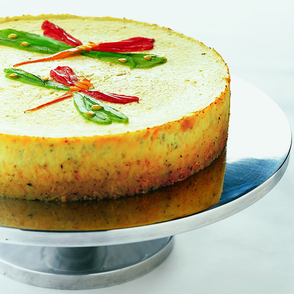 Savory Herbed Cheesecake