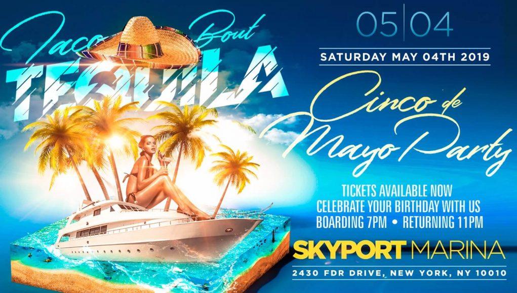 cinco de mayo party cruise