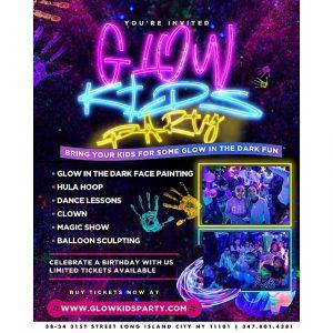 glow kids party