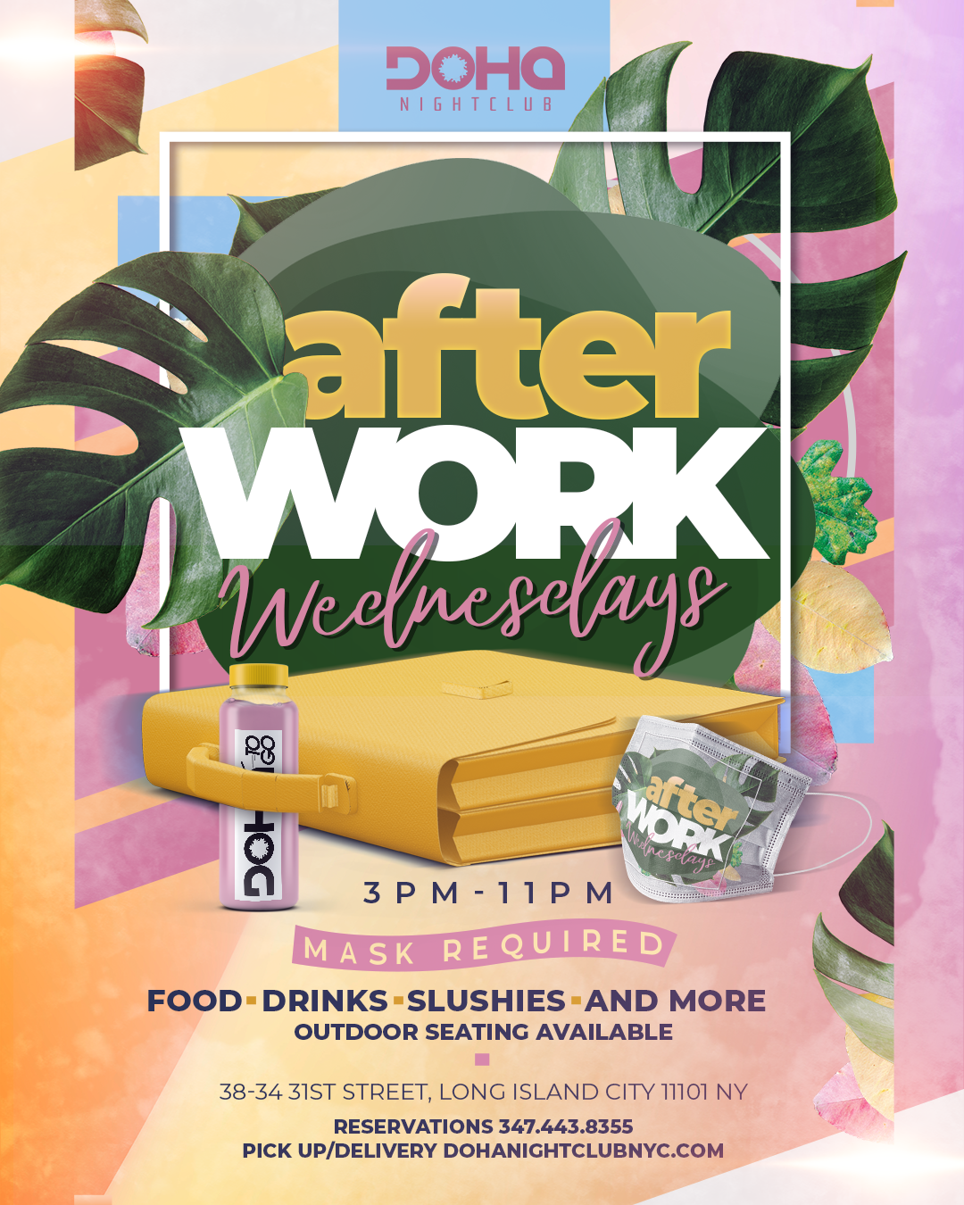 wednesday afterwork