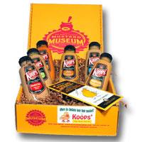 Koops Sampler Mustards Gift Box