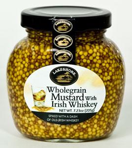 Lakeshore Wholegrain Mustard With  Whiskey