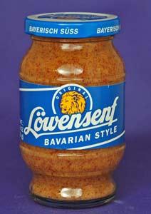 Lowensenf Bavarian Style Sweet Mustard