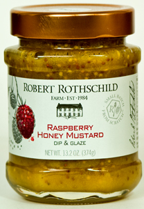 Robert Rothschild Raspberry Honey Mustard Dip & Glaze (13.5 Oz)