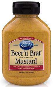 Silver Spring Beer & Brat Horseradish Mustard
