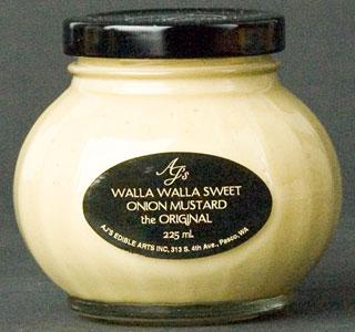 AJ's Walla Walla Sweet Onion Mustard