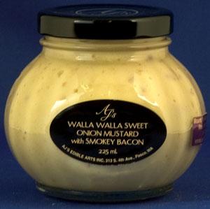 AJ's Walla Walla Onion Mustard With Bacon