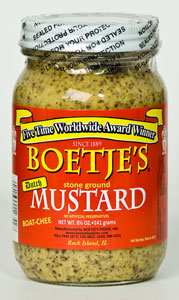 Boetje's Stone Ground Mustard