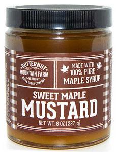 Butternut Mountain Sweet Maple Mustard