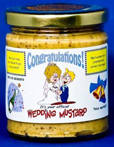 Congratulations on Your Wedding Mustard