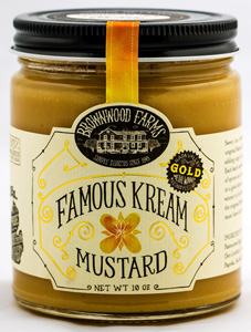 Brownwood Farms Famous Kream Mustard