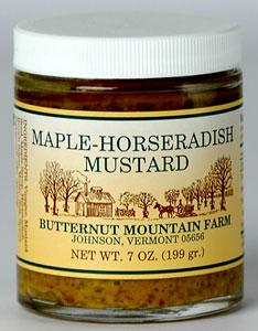 Butternut Mountain Farm Maple Horseradish Mustard