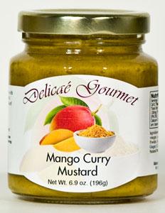 Delicae Gourmet Mango Curry Mustard