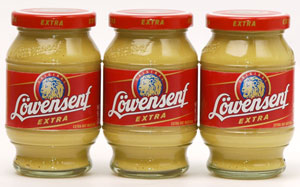 3-Pack Lowensenf Extra (Hot)