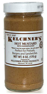 Kelchner's Hot Mustard with Horseradish
