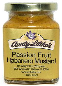 Aunty Lilikoi's Passion Fruit Habanero Mustard