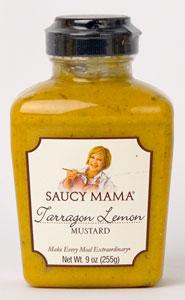 Saucy Mama Tarragon Lemon Mustard