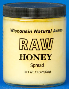 Wisconsin Natural Acres Raw Honey Spread