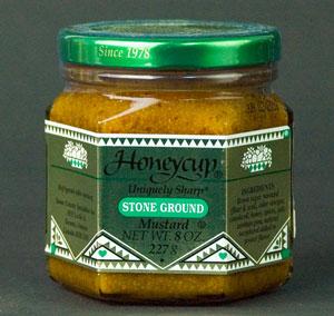 Honeycup Uniquely Sharp Stone Ground Mustard